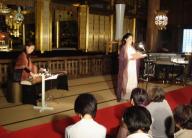 勝興寺本堂での源氏物語